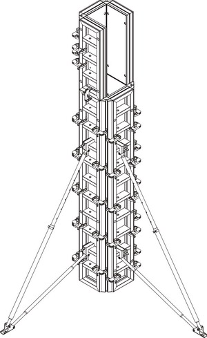 аренда опалубки колонн
